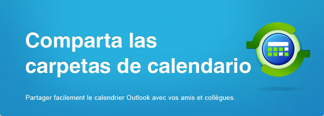 Sincronizar y compartir carpetas de Microsoft Outlook calendario sin un servidor.