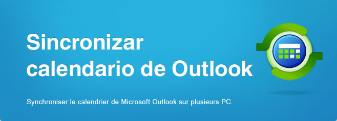Compartir y sincronizar carpetas de Microsoft Outlook calendario sin un servidor.