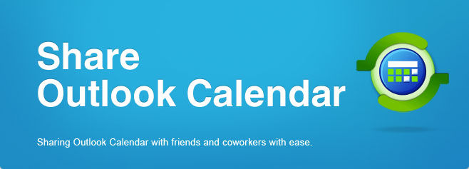 Synchronize and share Microsoft Outlook Calendar folders without a server.